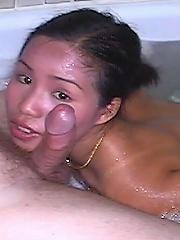 Variety of pics of nude Thai women