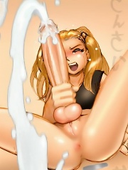 Anal action for horny anime dickgirl^Shemale Toons Futanari porn sex xxx futa shemale cartoon toon drawn drawing hentai gay tranny
