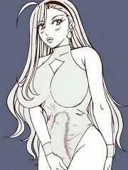 Anime girls growing themselves cocks