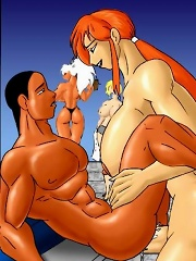 Juicy and slutty shemale toons sexing