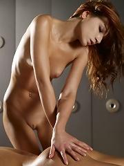 Marlene Massaging Gabriella