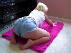 Beautiful Blonde Sammie Spades  Her Ass