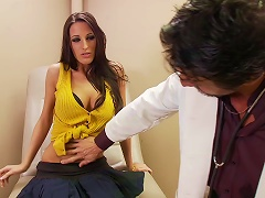 Gorgeous Brunette Kortney Kane Gets Fucked By Nasty Doctor