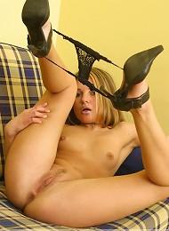 Petite Virgin Shows Off Her Pussy Teen Porn Pix