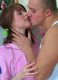 Teen Solo Sex Grows Into A Raw Coupling Teen Porn Pix