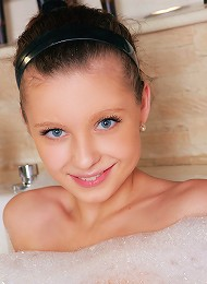 July - Soapy Teen - Cute Petite Teen Lathers Herself Up Teen Porn Pix