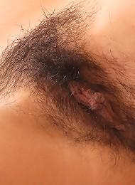 Pleasuring Her Soaked Hairy Muff Teen Porn Pix