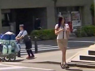 VoyeurHit Video - Gorgeous Jap Gets Screwed In Kinky Spy Cam Massage Clip
