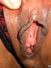 Asian slut gets shaved pussy rammed hard
