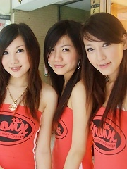 girsl getting a little lesbianistic in these mixed azn pics 2