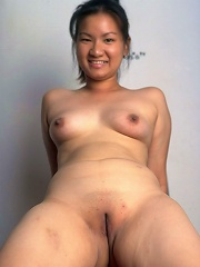 Asian amateur opens her tight asshole wide for thick cocks