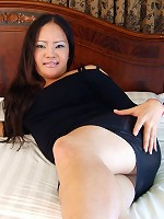 Ladyboy May is busty and has soft curves that she wants you to hold onto when you fuck her rough!