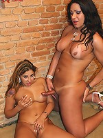 Horny Paty is back and in great style fucking her GG friend