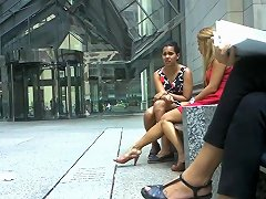 TXxx Video - Candid Amazing Legs Amp Feet Shoeplay By Blonde Pt Two