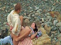 GotPorn Video - Kinky Amateur Couple Having Hardcore Sex On The Beach