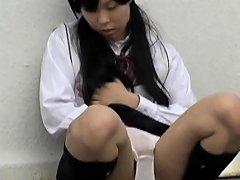 Peeing Japanese Ho Public