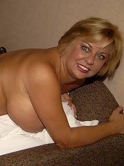 This big titted housewife gets fisted anyway possible