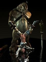 Innocent Vigrin is slammed by Mutant